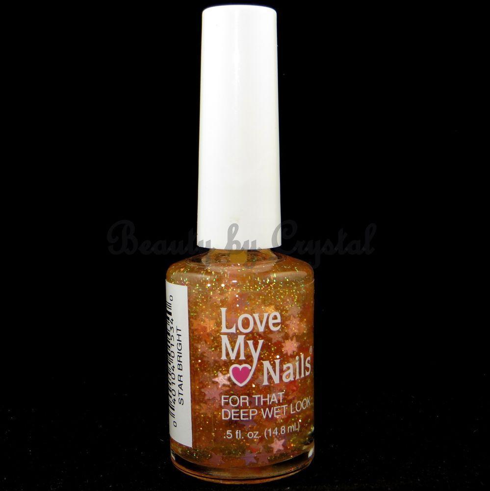 Love My Nails by Bari Nail Polish- STAR BRIGHT #1534 Clear w/ Pink ...