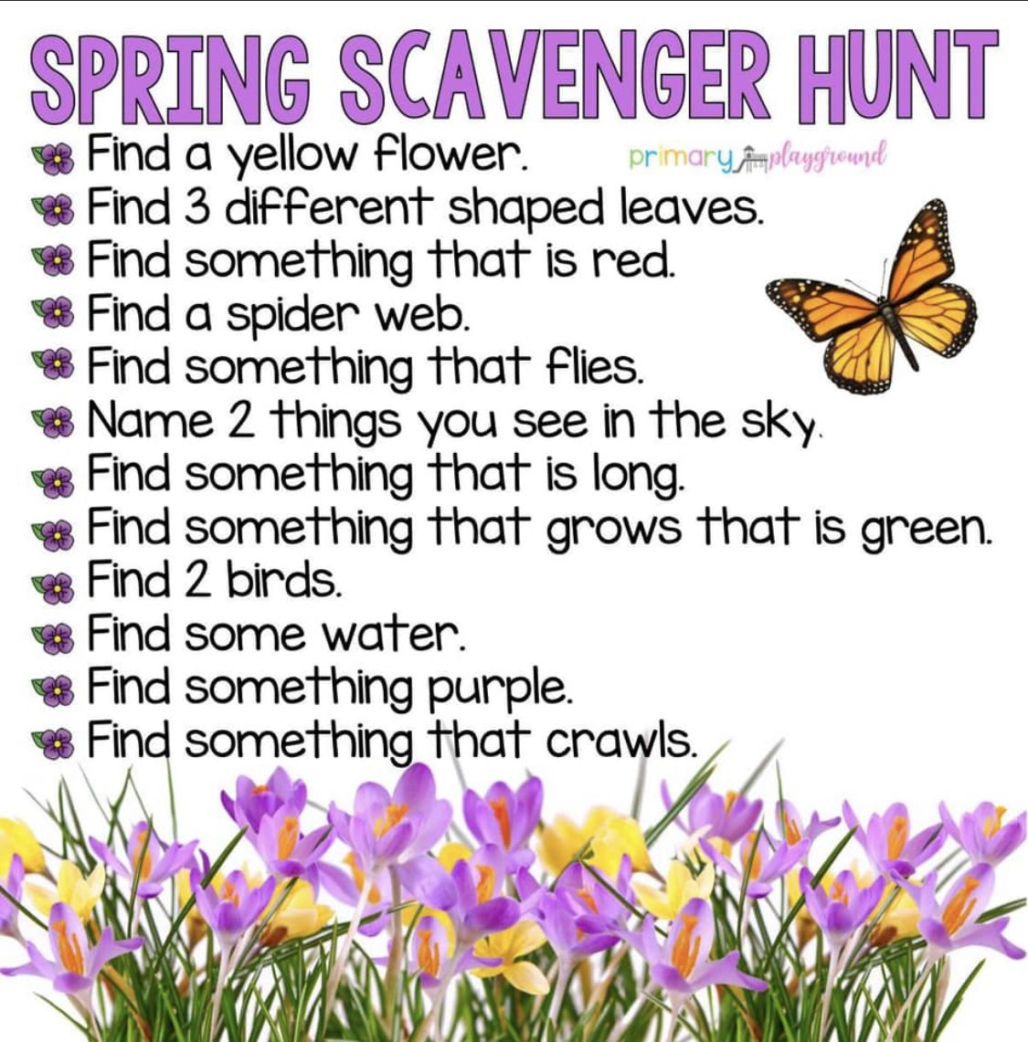 Pin On Spring Crafts