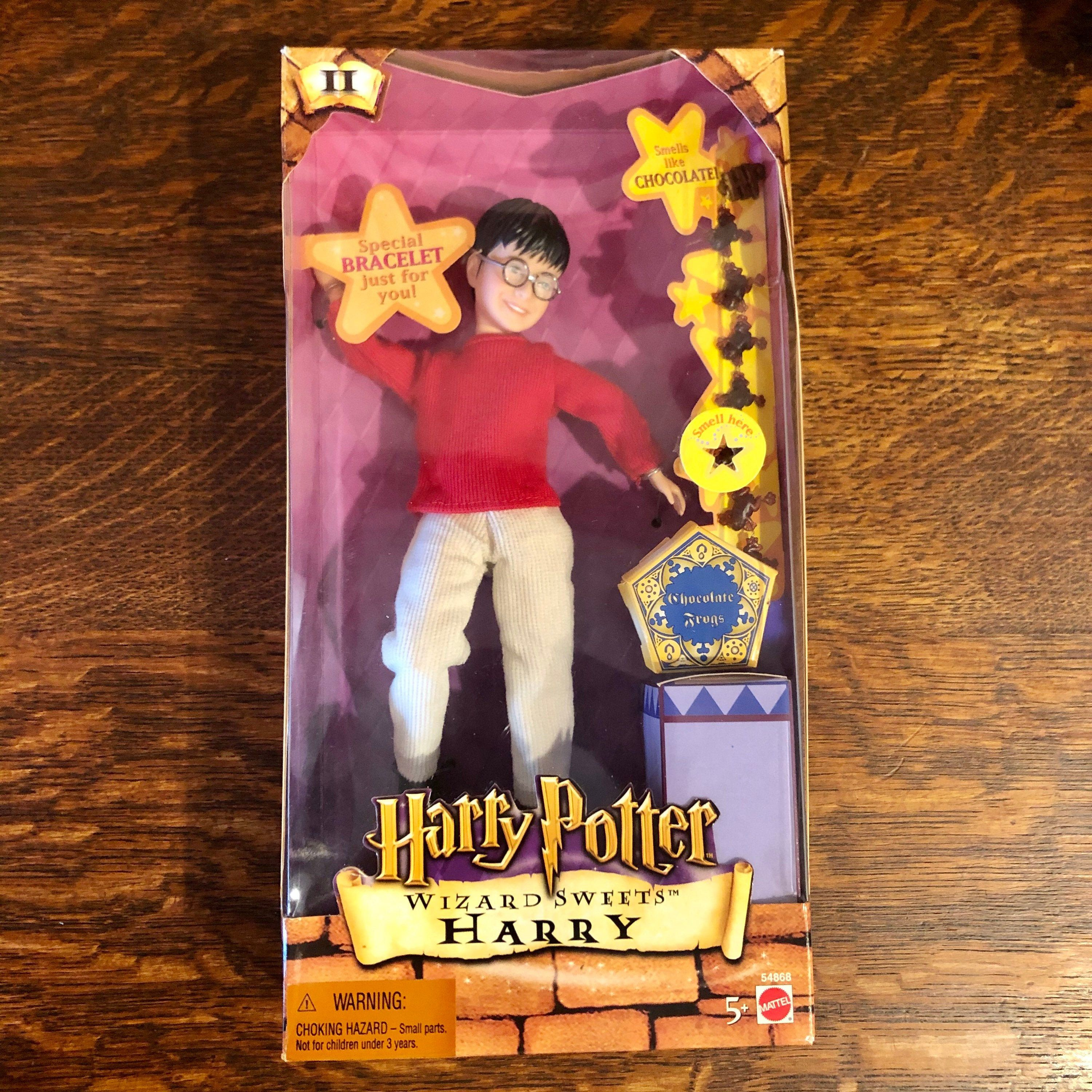 Harry Potter Doll Wizards Sweets Action Figure Chocolate Frogs Etsy In 2021 Etsy Vintage Decor Harry Potter Dolls Role Playing Gifts