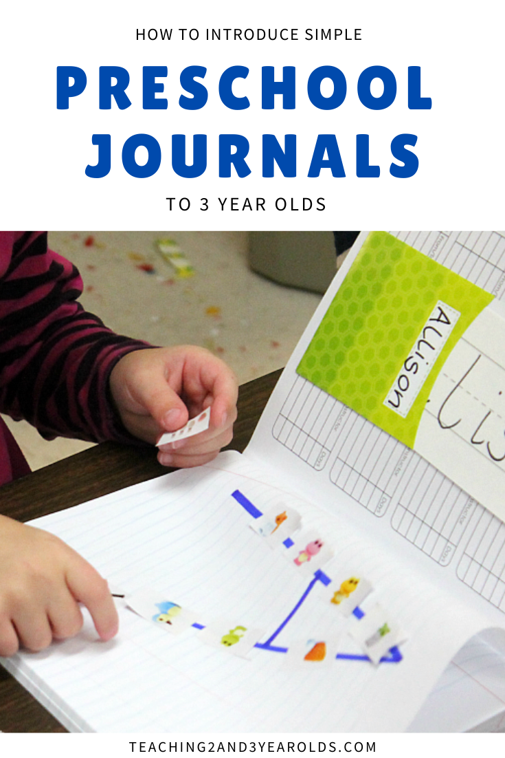 How to Introduce Preschool Journals to 3 Year Olds in 2020 ...