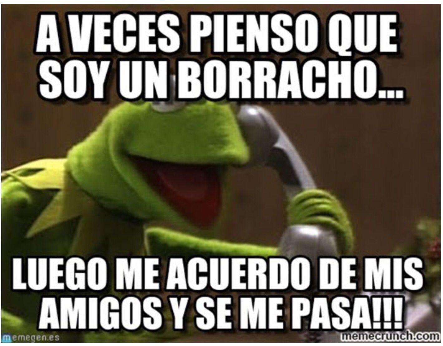 Siempre Hay Alguien Mas Borracho Memes Borrachos Frases Hilarantes Rana Rene Chistoso