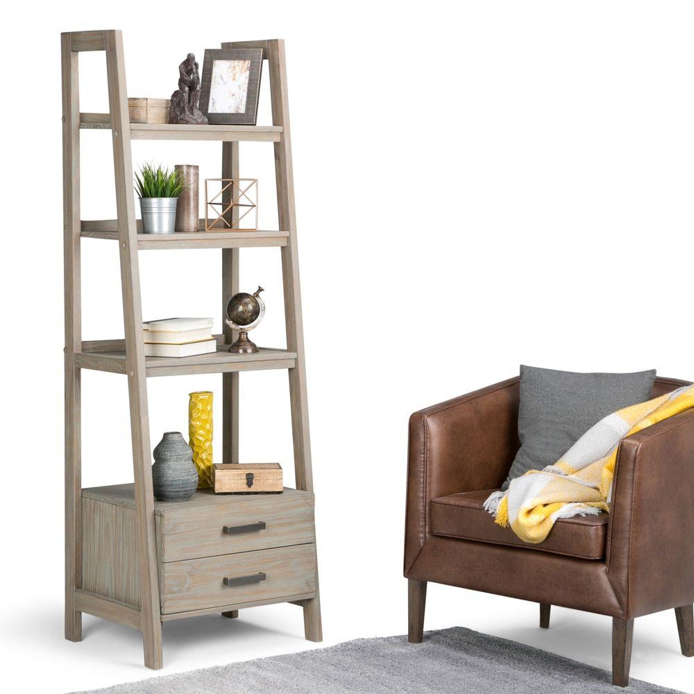 Wyndenhall hawkins ladder shelf with storage Σπίτι μου pinterest