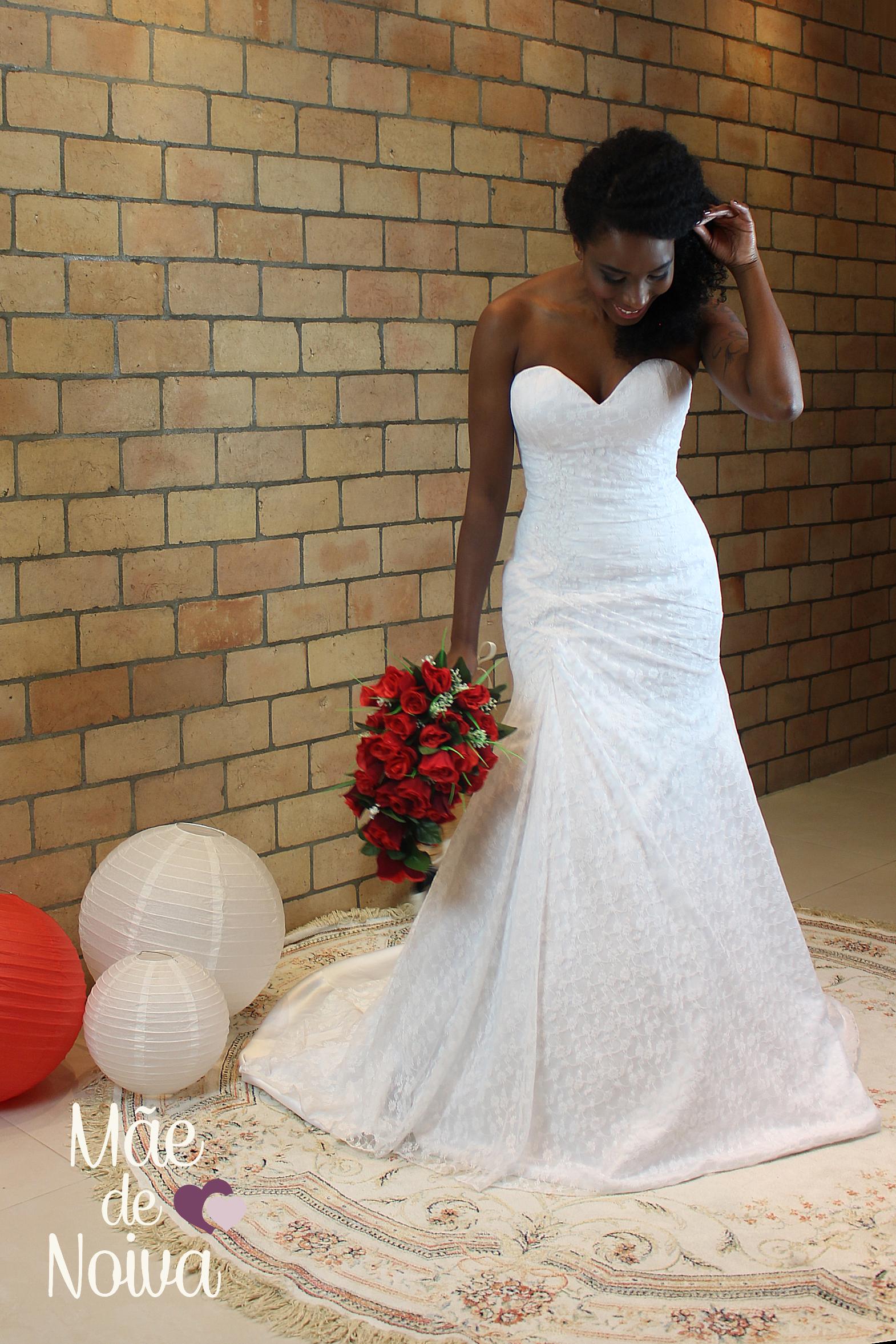 68b9cb987ed4 Vestido de noiva sereia, semi sereia, noiva de renda, noiva sensual, noiva