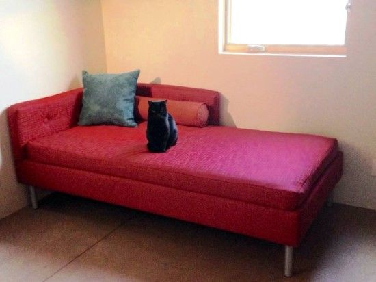 Boring Lillehammer Bedframe Goes Mid Century Modern Daybed Ikea