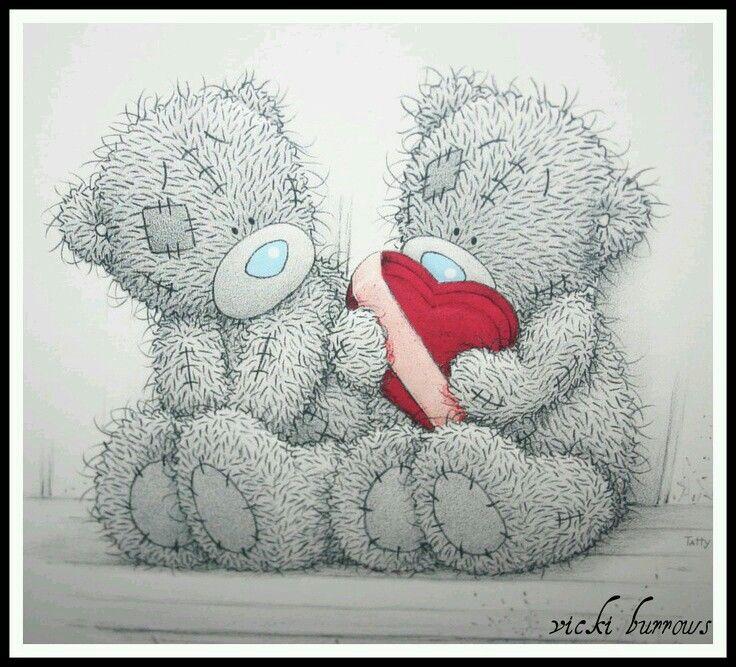 Картинки любовные мишки