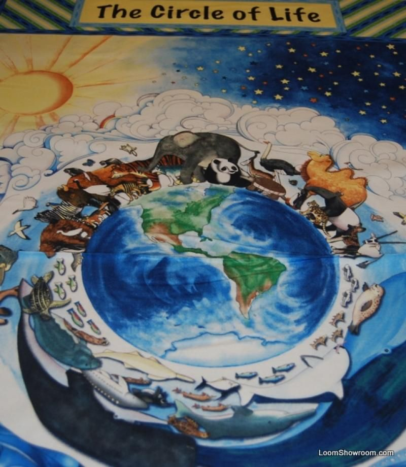 N28 Around The World Earth Globe All Creatures Great and Small ... : globe quilt - Adamdwight.com