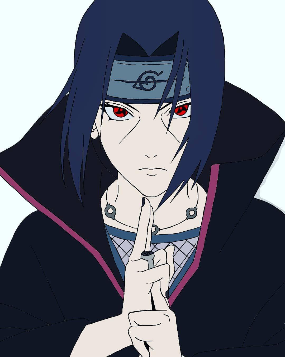 Character Name Itachi Uchiha Name Of The Anime Naruto Google Images Pt 2 Art Artist Artistsonin In 2020 Wie Zeichnet Man Manga Anime