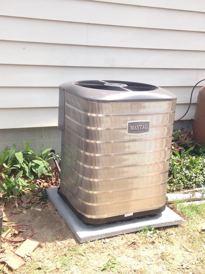 heat pump we installed Heat pump