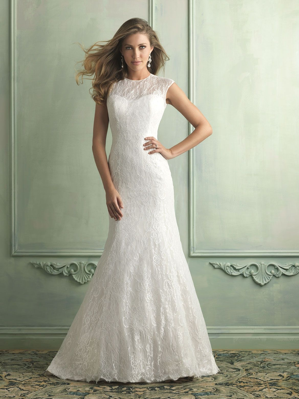 Allure Bridals » Style: 9119 » http://www.allurebridals.com/products/9119