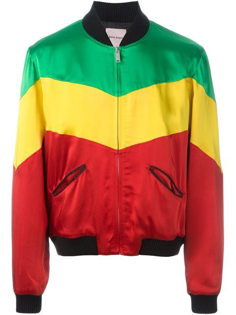 378a37ae1 PALM ANGELS rastafari colour block bomber jacket.  palmangels  cloth ...