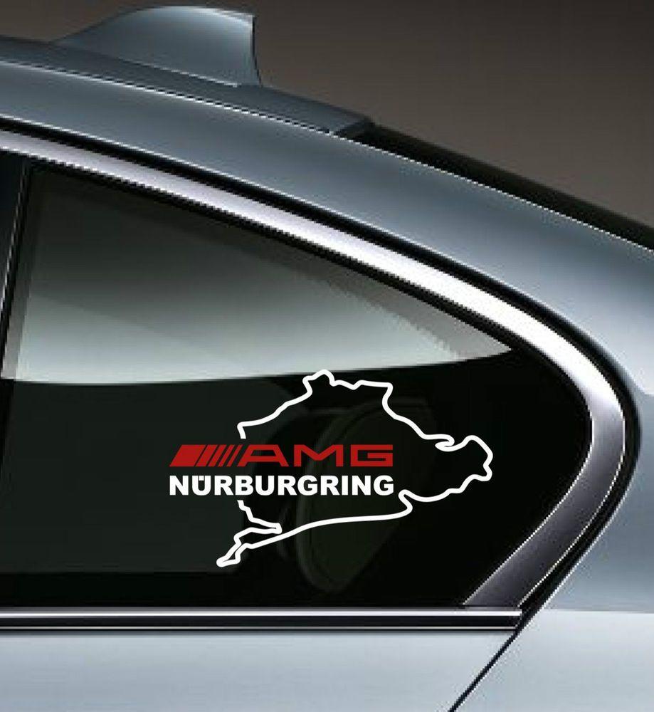 Amg Nurburgring Mercedes Benz C55 Clk E55 Cls63 E63 Decal Sticker Emblem Logo Ebay Volkswagen Decal Car Decals Stickers Decals [ 1000 x 919 Pixel ]