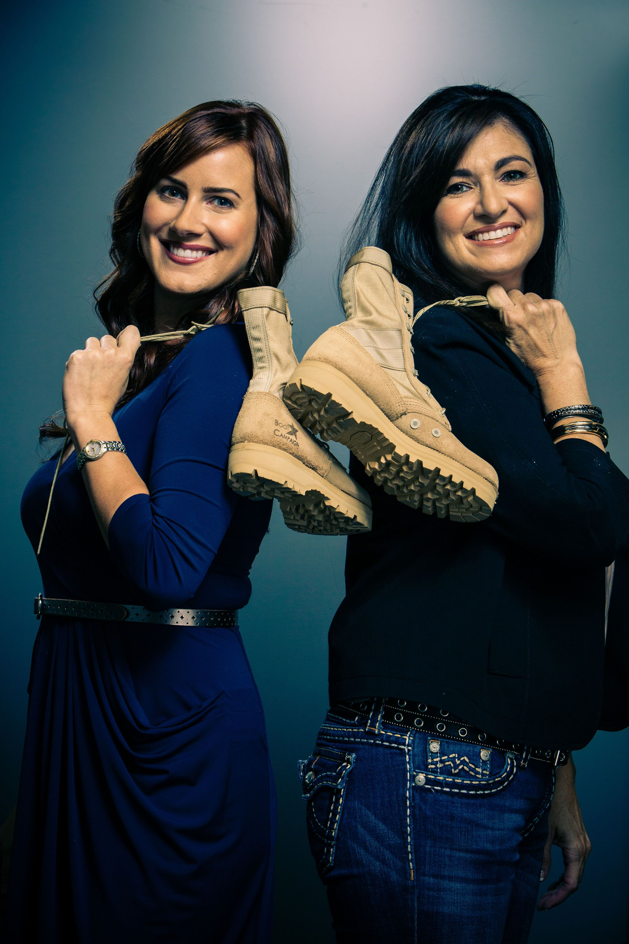 "Meghan McDermott & Veronica Fritz from ""Boot Campaign ..."