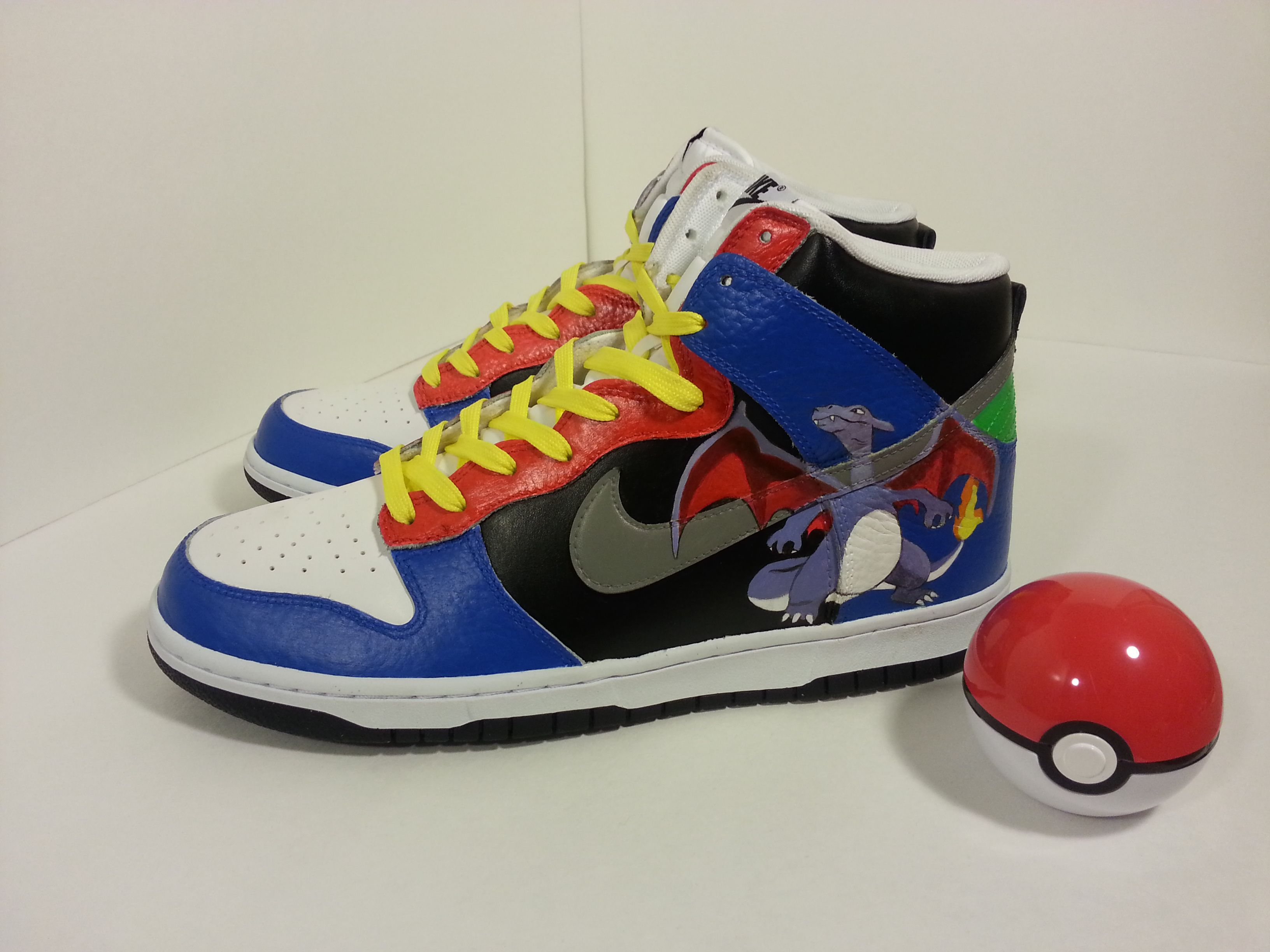 Pokemon Nike Dunks. Custom Painted ShoesNike ...