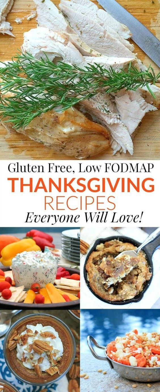 Gluten Free, Low FODMAP Thanksgiving Recipes Everyone Will Love!