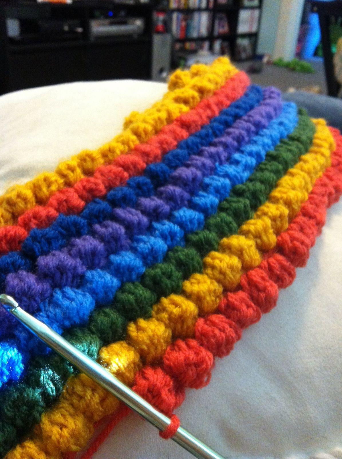 Crochet bobble blanket crochet pinterest blanket crochet crochet bobble blanket bankloansurffo Choice Image