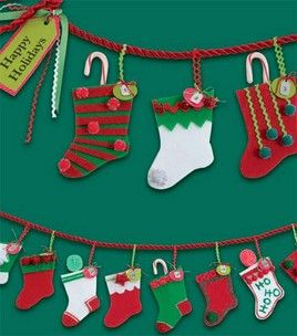 A stocking for each kid in the class