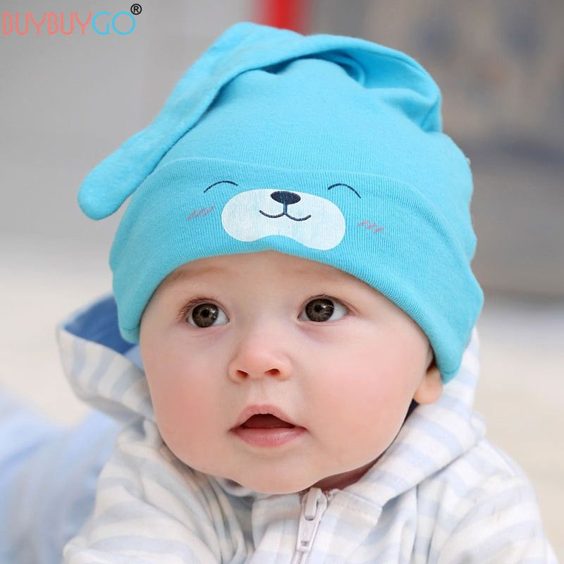 Cotton BABY BOY hats spring BEANIE 9-24 months 2-4 Year TODDLER BOYS HAT CAP