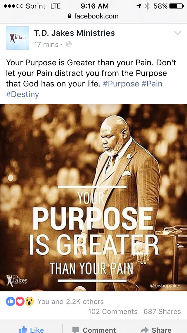 Pin By Ty Upshaw On Bishop TD Jakes Pinterest Td Jakes Quotes Extraordinary Td Jakes Pain Full Quotes