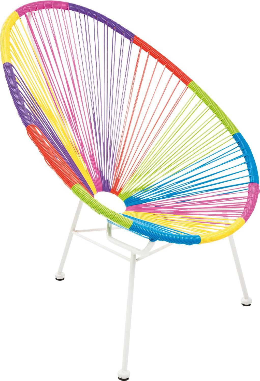 Acapulco chair dimensions - Kare Design Stuhl Bahia Acapulco Multicolore Chair Retro Designklassiker Neu