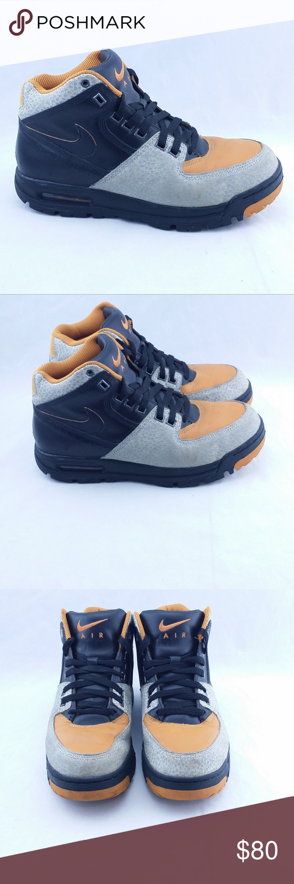 best service 3b816 1ad59 ... Nike Air Max Worknesh VTG 2009 High Men Sz 9 Vintage Nike Air Max  Worknesh 2009 Nike ACG ...