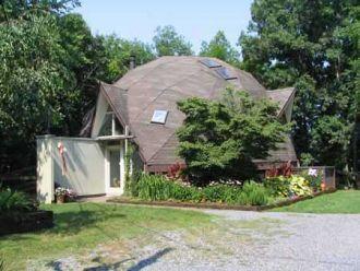 Geodesic dome homes sacred spaces pinterest house - Casas de madera y mas com ...