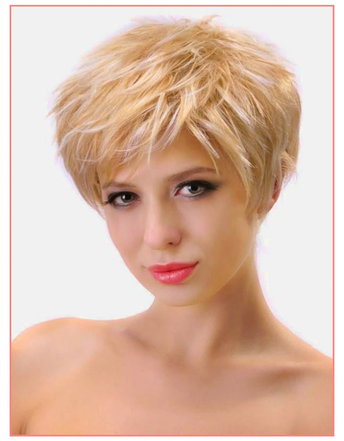 Short Hairstyles Front And Back View 2017 Hairstyles Oval Face Hairstyles Thick Hair Styles Haircut For Thick Hair