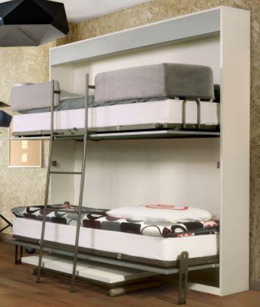exemple de lits superpos s escamotables. Black Bedroom Furniture Sets. Home Design Ideas