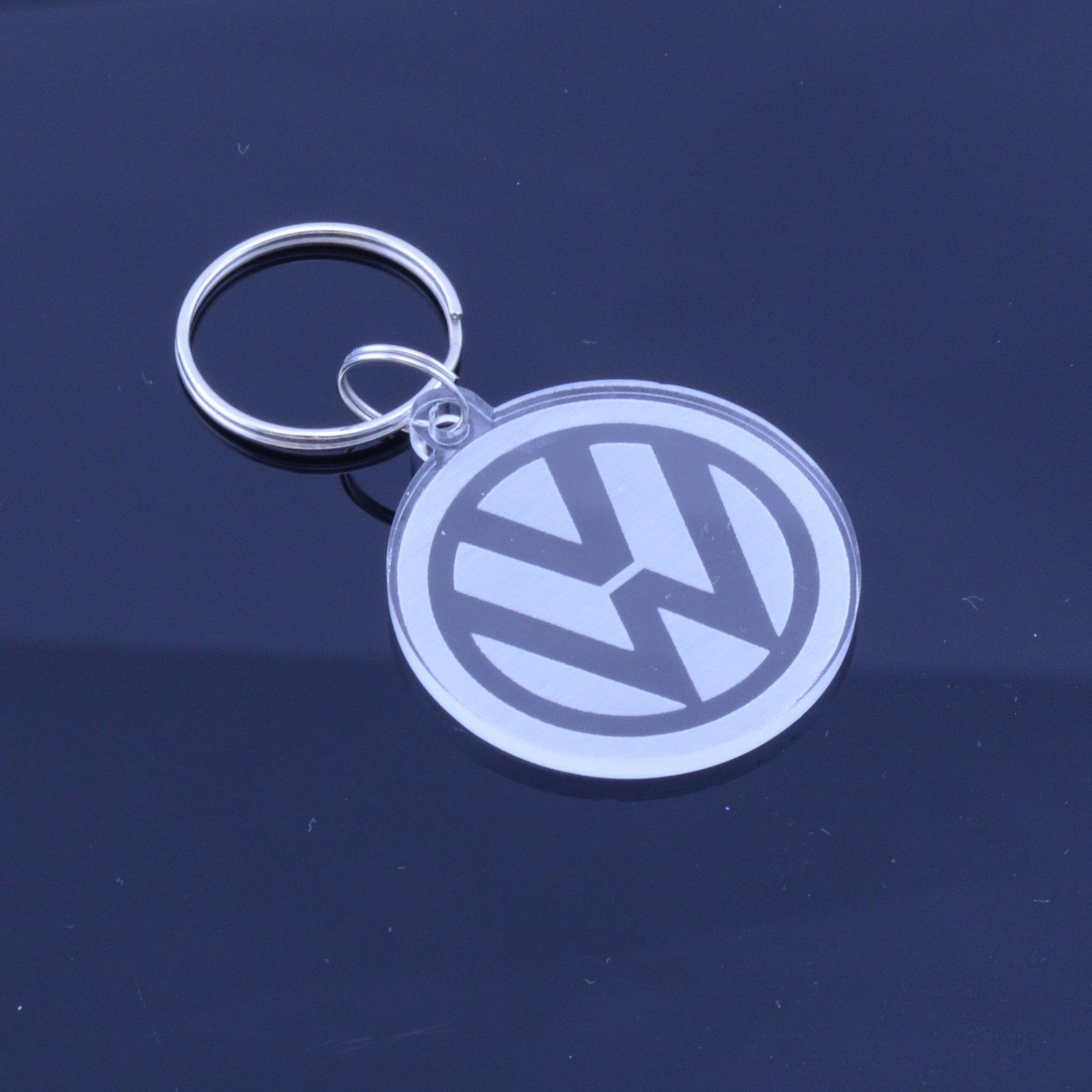 VW Volkswagen Car Badge Keyring - Handmade Laser Cut Gift  8a656d274
