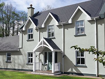 Atlantic way merlin dulux weathershield maysonary paint home ideas in 2019 exterior house for Dulux exterior paint colours for houses