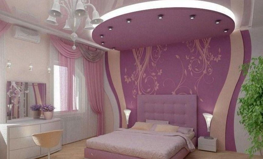 m dchen raumdecke modelle lila teenager zimmer deko tipps rosa schlafzimmer f r m dchen. Black Bedroom Furniture Sets. Home Design Ideas