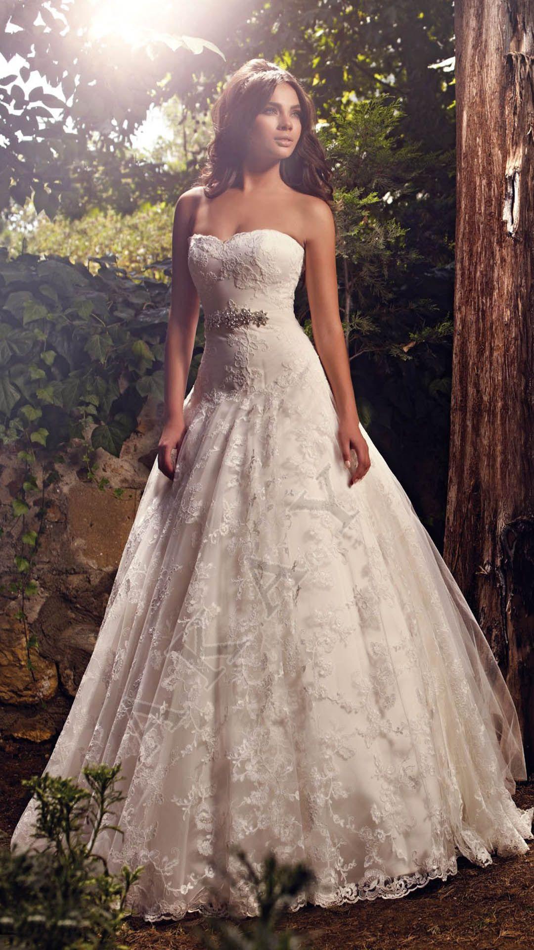 Turkish aline wedding gowns pinterest rendas de contas