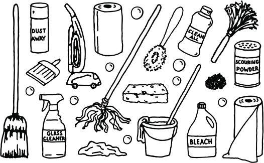 Neat Versus Sloppy Bullet Journal Banner Easy Doodle Art