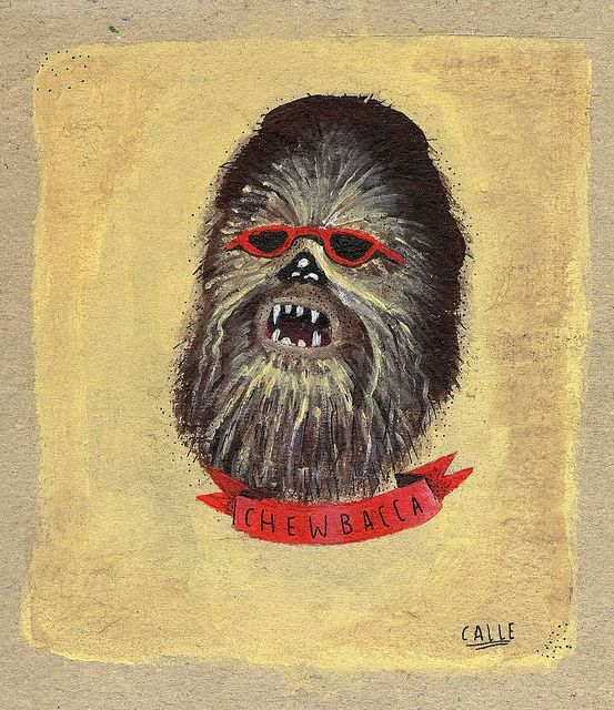 chewbacca by danielcalle