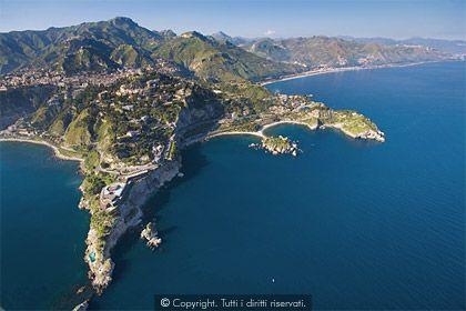 sicilia, taormina, mare, panorama, vacanze in sicilia