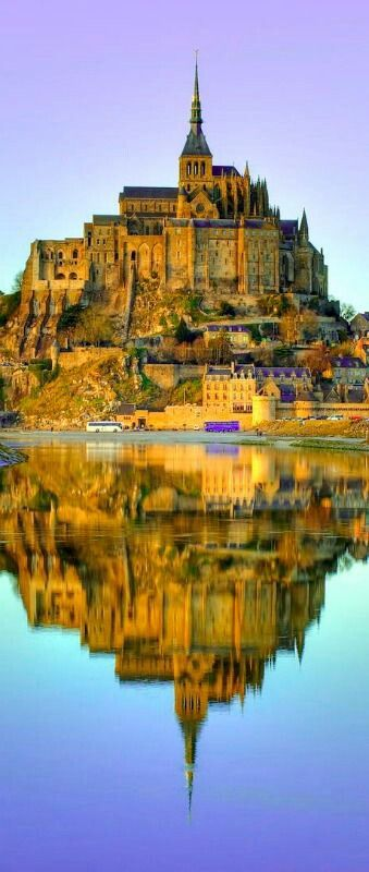 .Mont St. Michele Normandy France