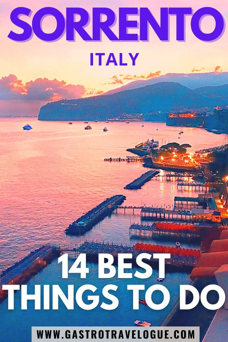 TRAVEL TO ITALY SORRENTO TRAVEL GUIDE