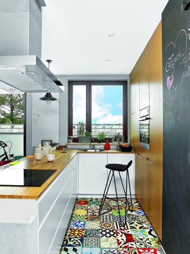 Pomys 322 Na Pod 322 Og 281 Joanna I 160 Krzysztof Przywie 378 Li Z Andaluzji Kolorowe Cementowe P 322 Ytki Z Home Kitchens Home Decor Apartment Decor