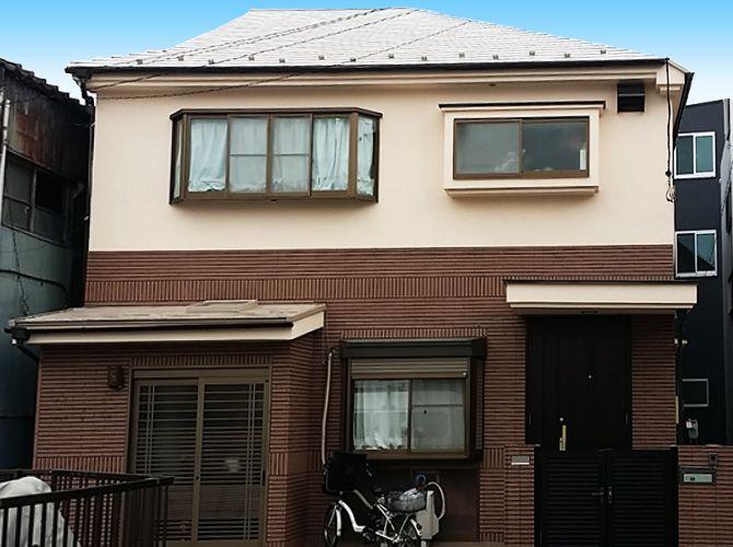 東京都葛飾区の外壁塗装 屋根塗装工事の施工事例 20160016 塗装