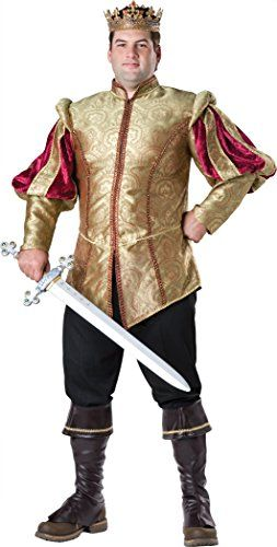 Fun World InCharacter Costumes Mens PlusSize Renaissance Prince - halloween costume ideas plus size