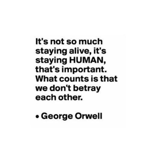 Staying Human George Orwell Citazioni