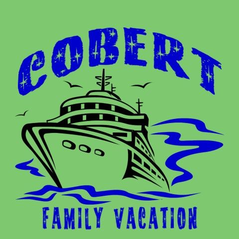 Family reunion t shirt design frw cruise is perfect for for Travel t shirt design ideas