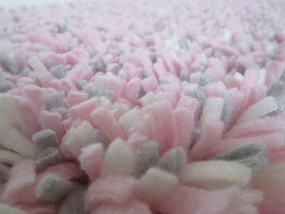 pink and gray rugs for nursery gray white coral pink shag rugfleecegirl nursery rugbaby girl rugpink gray cream shaggy latch hook rugphoto prop crib rug15 gray