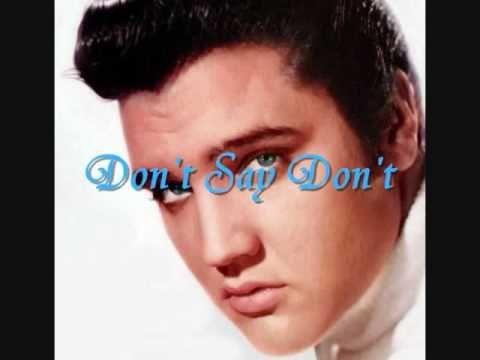 ▶ Elvis Presley Don't LYRICS - YouTube