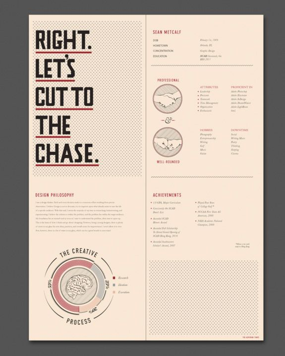 20 CV créatifs pour votre inspiration u2013 #2 Creative cv, Design - resume design inspiration