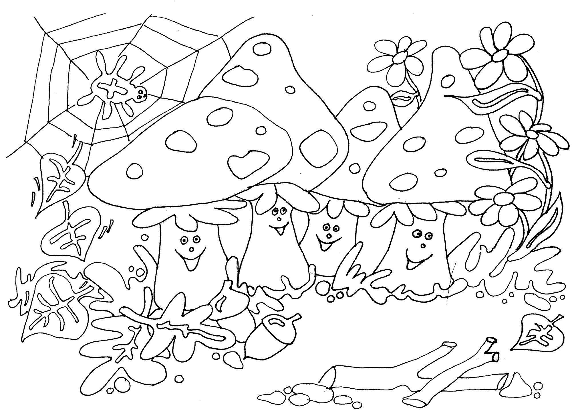thema seizoenen herfst kleurplaten juf milou herfst