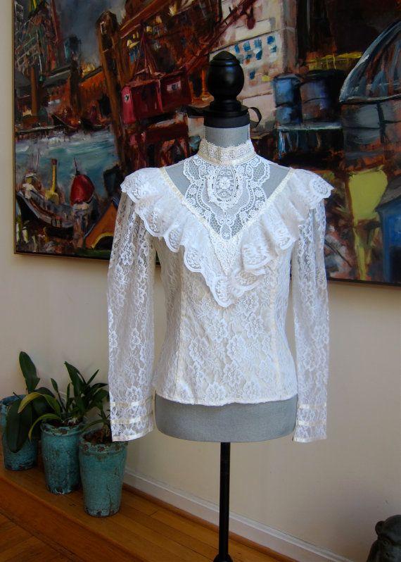 Vintage SCOTT McCLINTOCK Gunne Sax Skirt