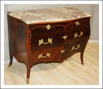 Como\' Genovese Luigi XV 700 Lastronato palissandro e legno rosa ...