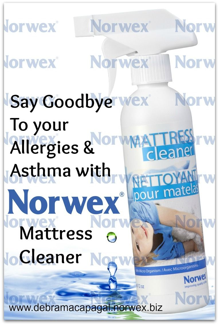 Norwex Mattress Cleaners is great if you have allergies and asthma ...