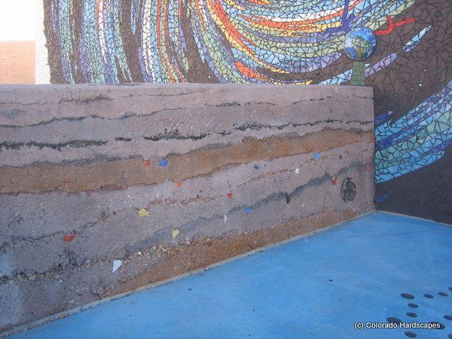 Seeded Concrete Walls Google Search Concrete Decor Concrete Wall Concrete