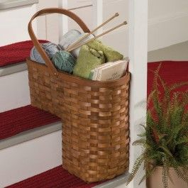 Check Out Sturbridge Yankee Workshops Stair Basket